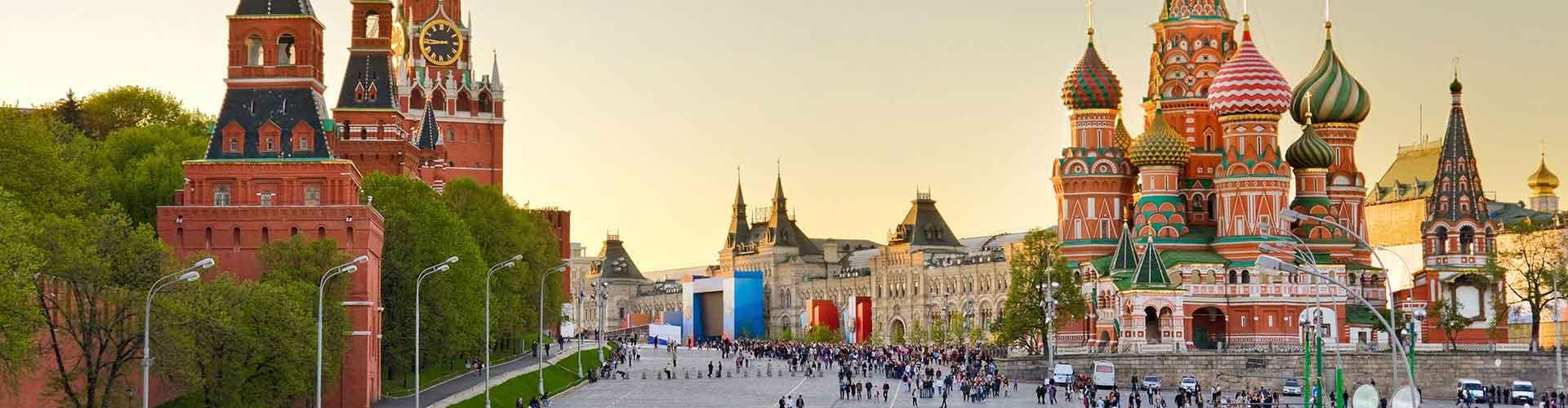 莫斯科 – 莫斯科的青年旅舍。莫斯科地图,莫斯科每间青年旅舍的照片和评价。