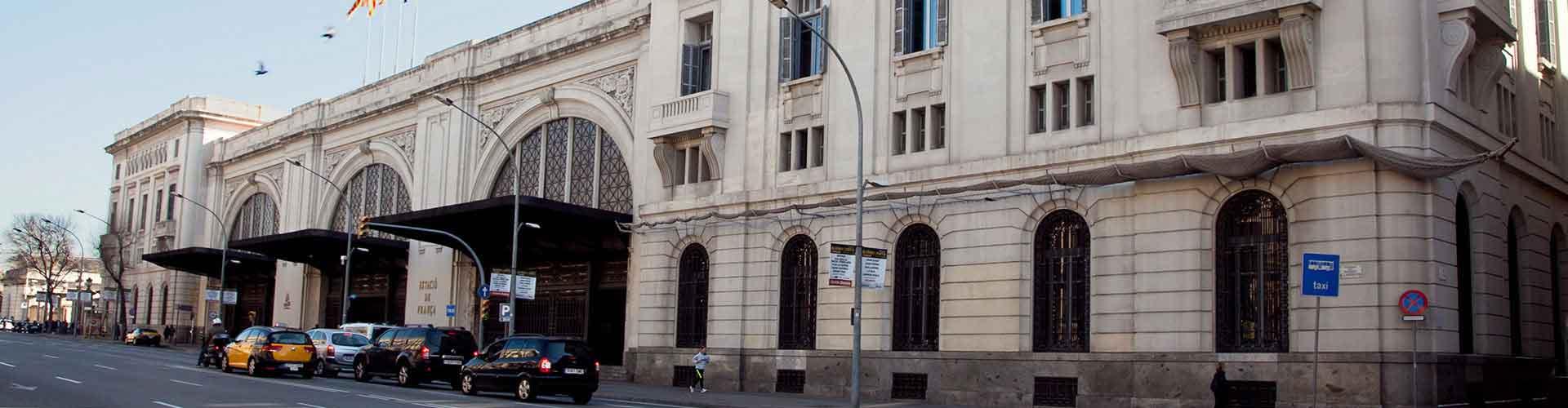 巴塞罗那 – 弗兰卡站 附近的青年旅舍。巴塞罗那地图,巴塞罗那 所有青年旅馆的照片和评分。