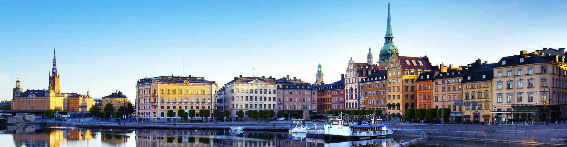 斯德哥尔摩 – 市中心 附近的青年旅舍。斯德哥尔摩地图,斯德哥尔摩 所有青年旅馆的照片和评分。